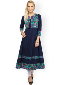 Anarkali with Jacket